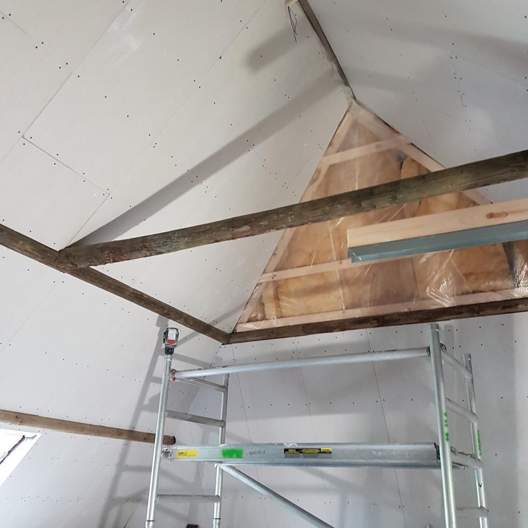 verlaagdplafond zolder